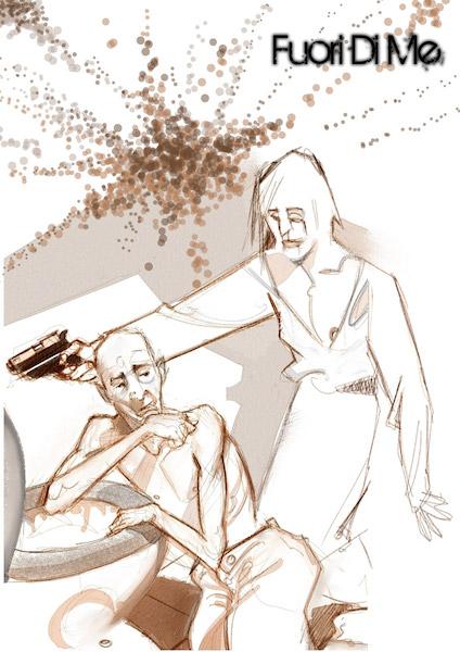 Fuori di me, illustrazione di Mauro Moretti
