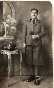 Foto del padre dell'autrice