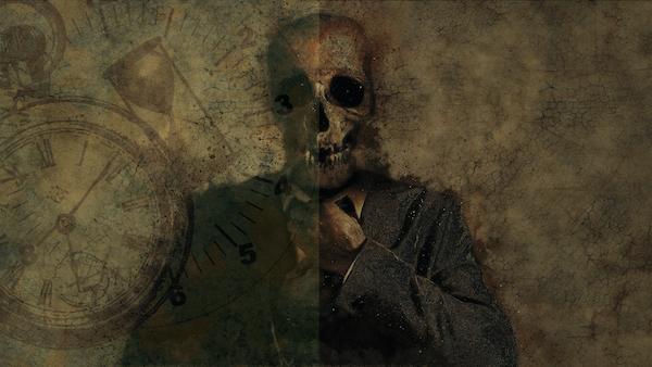 Teschio e clessidra, storia di un suicidio