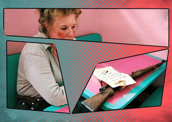 Donna col fucile, di Martin Kollar